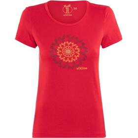 Elkline Memory Short Sleeve Shirt Women Red